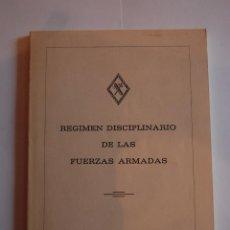 Militaria: RÉGIMEN DISCIPLINARIO DE LAS FUERZAS ARMADAS. MADRID 1987.. Lote 42908843