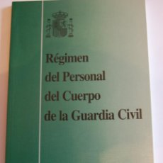 Militaria: RÉGIMEN DEL PERSONAL DEL CUERPO DE LA GUARDIA CIVIL. . Lote 42908898