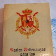 Militaria: REALES ORDENANZAS PARA LAS FUERZAS ARMADAS (1979).. Lote 42909567