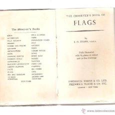 Militaria: LIBRO DE BANDERAS DEL MUNDO CON EXPLICACIONES DE LOS DIVERSOS ESCUDOS Y ORÍGENES. LONDON-1959. Lote 42955557