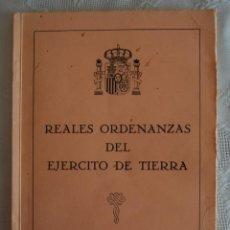 Militaria: REALES ORDENANZAS DEL EJERCITO DE TIERRA. . Lote 43042541