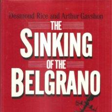 Militaria: THE SINKING OF THE BELGRANO INGLES,EL HUNDIMIENTO EN LAS MALVINAS DE ESTE CRUCERO ARGENTINO. Lote 43078404