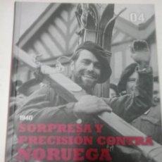 Militaria: 4-SORPRESA Y PRECISION CONTRA NORUEGA -LA SEGUNDA GUERRA MUNDIAL-LAS CLAVES DE LA MAYOR CONTIENDA. Lote 54132909