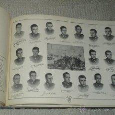 Militaria: ALBUM DE LA XI PROMOCIÓN DE LA ACADEMIA GENERAL MILITAR DE ZARAGOZA 1952 MOTES DE PROFESORES. Lote 43652560