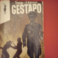 Militaria: GESTAPO. SVEN HASSEL.. Lote 44336064