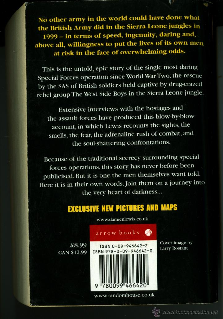 Militaria: OPERATION CERTAIN DEATH, THE INSIDE STORY OF THE SAS'S GREATEST BATTLE -DAMIEN LEWIS - Foto 2 - 45008032