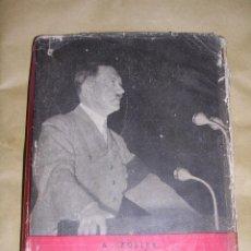 Militaria: LIBRO - DOCE AÑOS AL LADO DE HITLER POR A ZOLLER , EDT SIMBOLO, BARCELONA , 1 EDC 1954. Lote 45064344