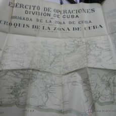 Militaria: COMBATES Y CAPITULACION DE SANTIAGO DE CUBA.MADRID 1898. POR EL TENIENTE DE NAVIO DE PRIMERA D.JOSE . Lote 45495481
