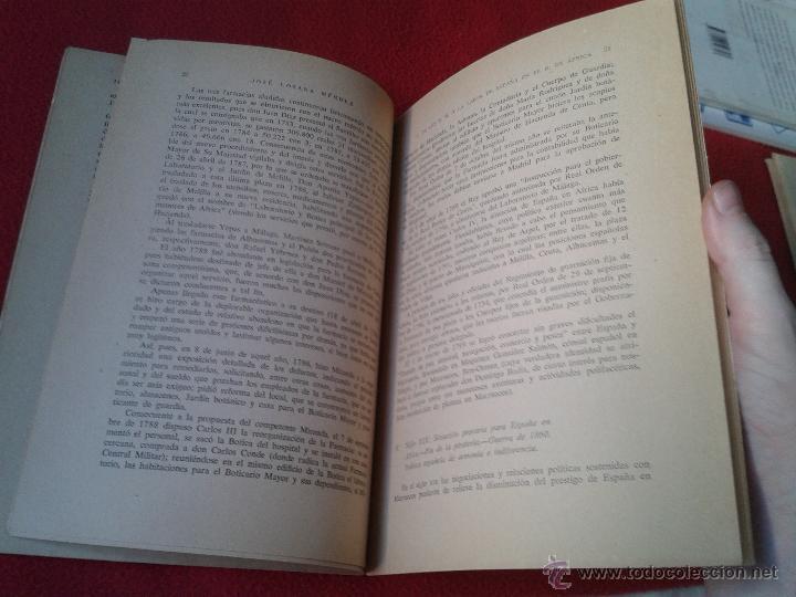 Militaria: LIBRO CONTRIBUCION DE LOS FARMACEUTICOS MILITARES A LA LABOR DE ESPAÑA EN EL NORTE DE AFRICA 1958 - Foto 3 - 45589332