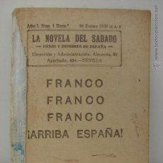 Militaria: MARRUECOS DIARIO DE UNA BANDERA. POR FRANCISCO FRANCO. 1939. Lote 45658225