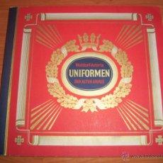 Militaria: COLECCIONISTAS: ANTIGUO ALBUM UNIFORMEN DER ALTEN ARMEE - WALDORF ASTORIA. Lote 45661612