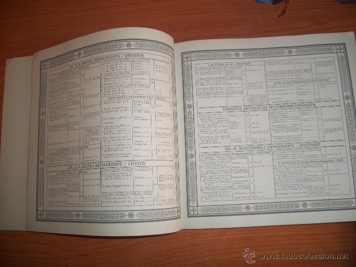 Militaria: COLECCIONISTAS: ANTIGUO ALBUM UNIFORMEN DER ALTEN ARMEE - WALDORF ASTORIA - Foto 5 - 45661612