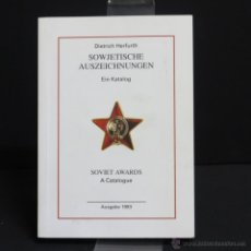 Militaria: LIBRO DE INSIGNIAS SOVIÉTICOS.. Lote 45799239