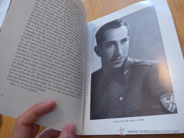 Militaria: Libro La aportacion catalanes a guerra liberacion. Guerra civil y Division Azul. 1975 - Foto 3 - 45898764