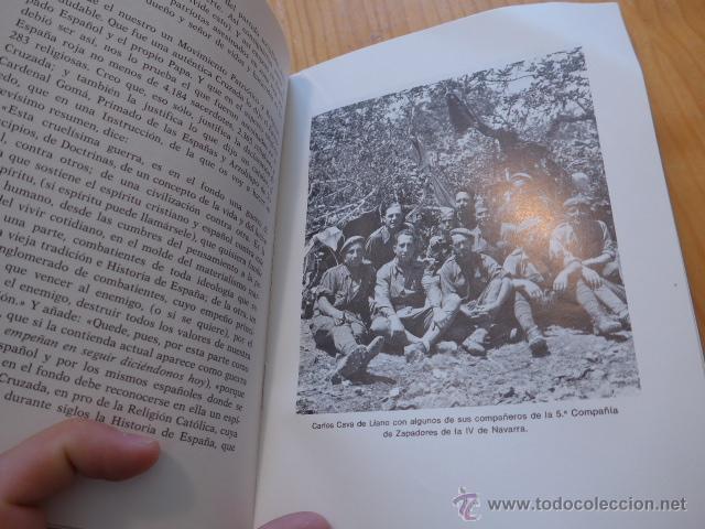 Militaria: Libro La aportacion catalanes a guerra liberacion. Guerra civil y Division Azul. 1975 - Foto 4 - 45898764