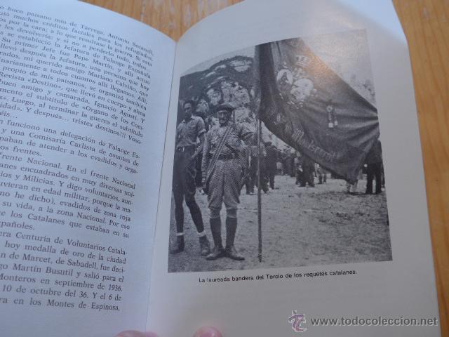 Militaria: Libro La aportacion catalanes a guerra liberacion. Guerra civil y Division Azul. 1975 - Foto 7 - 45898764