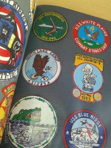 Militaria: IMPRESIONANTE LIBRO DE INSIGNIAS U.S PATCH AMERICANAS SEGUNDA GUERRA MUNDIAL 1ª EDI LEER DESCRPCION - Foto 3 - 45945395