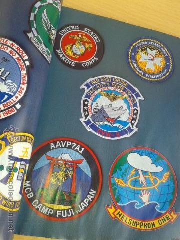 Militaria: IMPRESIONANTE LIBRO DE INSIGNIAS U.S PATCH AMERICANAS SEGUNDA GUERRA MUNDIAL 1ª EDI LEER DESCRPCION - Foto 5 - 45945395