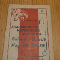 Militaria: LIBRO ANARQUISTA. SALVADOR SEGUI EL NOI DE SUCRE. CNT. MLE. FIJL. 1950. EXILIO FRANCIA. GUERRA CIVIL. Lote 46159336