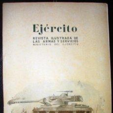 Militaria: ANTIGUA REVISTA EJÉRCITO - EL CARRO DE COMBATE LIGERO-ENERO 1952, NUM 144. Lote 46263797