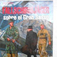 Militaria: LIBRO MILITAR: FALLSCHIRMJAGER SOBRE EL GRAN SASSO 1943 PRECINTADO NB. Lote 171554977