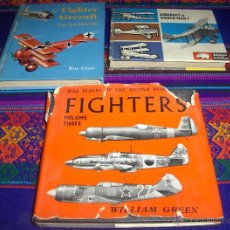 Militaria: FIGTHERS VOLUME THREE, AIRCRAFT WORLD WAR 1, THE FIGHTER AIRCRAFT POCKETBOOK AÑOS 60 PEQUEÑO FORMATO. Lote 46769734
