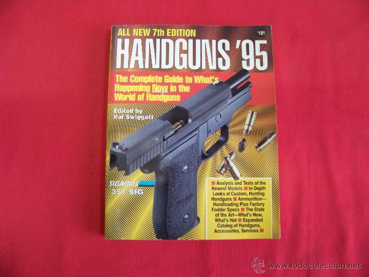 HANDGUNS,ARMAS (Militar - Libros y Literatura Militar)