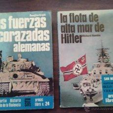 Militaria: LOTE 2 LIBROS FUERZAS ALEMANAS.. Lote 46988278