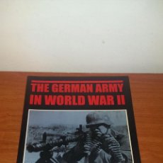 Militaria: THE GERMAN ARMY IN WORLD WAR II. Lote 47534629