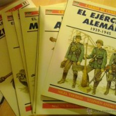 Militaria: COLECCION COMPLETA DE OSPREY-MILITARY CARROS DE COMBATE. Lote 47639123