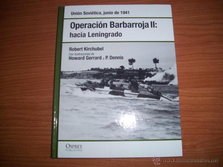 OSPREY 2ª GM: OPERACION BARBARROJA II (Militar - Libros y Literatura Militar)
