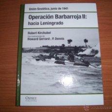 Militaria: OSPREY 2ª GM: OPERACION BARBARROJA II. Lote 48293324