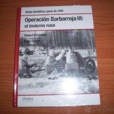 Militaria: OSPREY 2ª GM : OPERACION BARBARROJA III - (EL INVIERNO RUSO). Lote 48318168