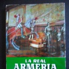 Militaria: LA REAL ARMERIA DE MADRID. GUIA TURISTICA. COMENTARIOS Y NOTAS DE JAVIER CORTES. EDITORIAL PATRIMINI. Lote 48160356