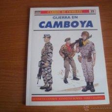 Militaria: OSPREY, CARROS DE COMBATE Nº 20 - GUERRA EN CAMBOYA. Lote 48319110