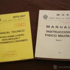 Militaria: MANUAL INSTRUCCION FISICO MILITAR - MANUAL TÉCNICO - ESTADO MAYOR DEL EJERCITO.. Lote 48279189