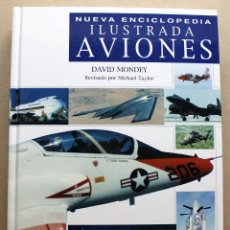 Militaria: LIBRO NUEVA ENCICLOPEDA ILUSTRADA AVIONES. Lote 48434178