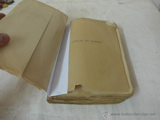 Militaria: Libro checas de Madrid, guerra civil, 1940 - Foto 2 - 48437155