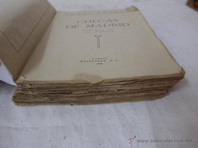Militaria: Libro checas de Madrid, guerra civil, 1940 - Foto 4 - 48437155