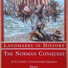 Militaria: THE NORMAN CONQUEST - OSPREY LANDMARKS HISTORY. Lote 48568498
