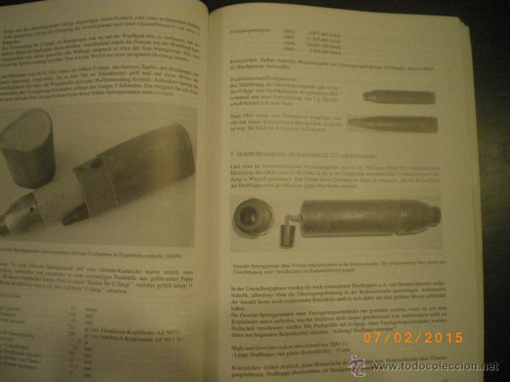 Militaria: LIBRO GRANADAS DE FUSIL ALEMANAS 1ª Y 2ª GM - Foto 5 - 48877144