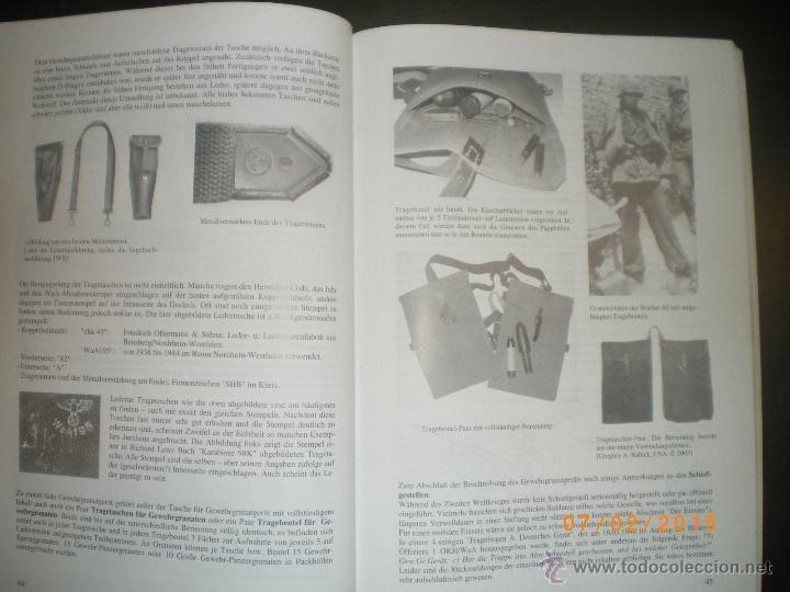 Militaria: LIBRO GRANADAS DE FUSIL ALEMANAS 1ª Y 2ª GM - Foto 7 - 48877144