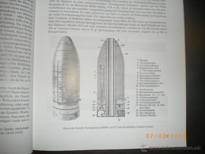Militaria: LIBRO GRANADAS DE FUSIL ALEMANAS 1ª Y 2ª GM - Foto 9 - 48877144