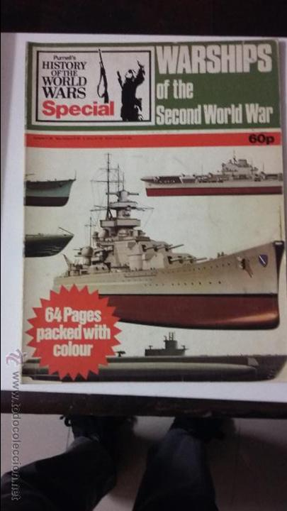 WARSHIPS OF THE SECOND WORLD WAR. ED. PURNELL (Militar - Libros y Literatura Militar)