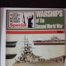 Militaria: WARSHIPS OF THE SECOND WORLD WAR. ED. PURNELL. Lote 49096897