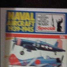 Militaria: NAVAL AIRCRAFT 1939-1945. Lote 49097169