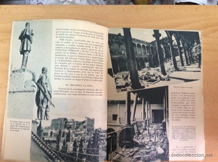 Militaria: EL ALCAZAR - EDITORIAL NACIONAL - 1939 - GUERRA CIVIL ESPAÑOLA - Foto 3 - 49174844