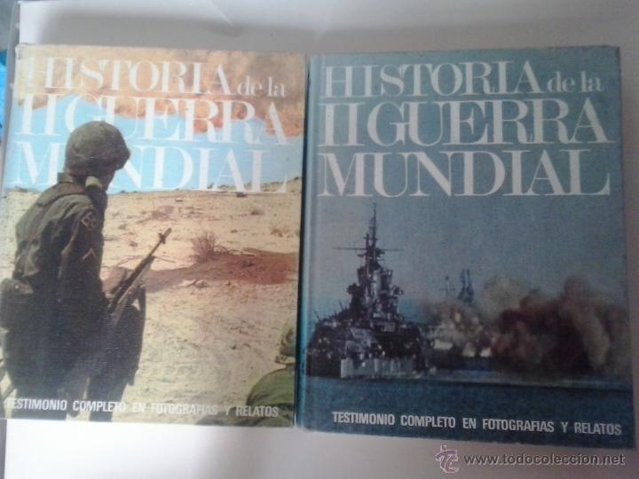 HISTORIA DE LA II GUERRA MUNDIAL -EDITORIAL MARIN-1969 (Militar - Libros y Literatura Militar)