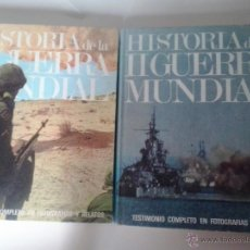 Militaria: HISTORIA DE LA II GUERRA MUNDIAL -EDITORIAL MARIN-1969. Lote 49236526