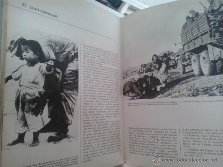 Militaria: HISTORIA DE LA II GUERRA MUNDIAL -EDITORIAL MARIN-1969 - Foto 2 - 49236526